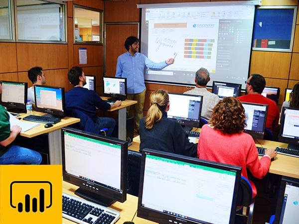 Curso Power Bi Madrid, aulas discoveryformacion