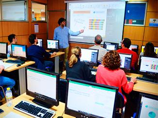 Cursos de Ofimática en Madrid, aulas
