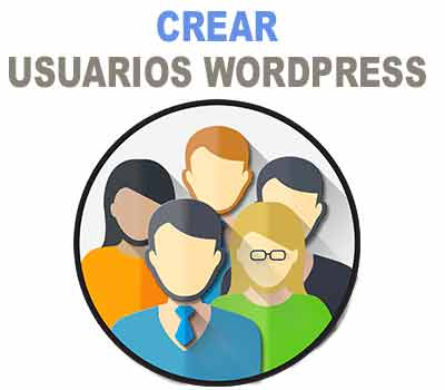 Como crear usuarios en wordpress