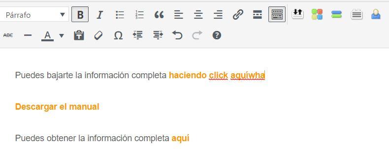 enlazar texto a pdf