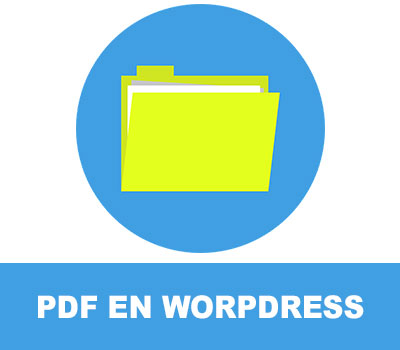 Subir pdf a wordpress
