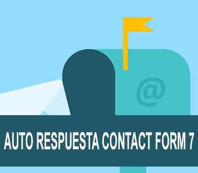 Autoresponder en contact form 7