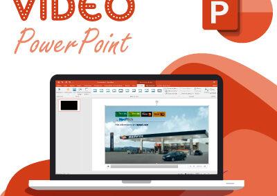 como insertar un video en power point