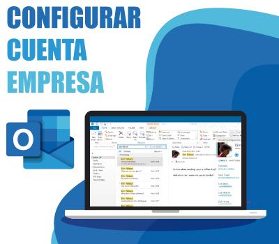 Configurar cuenta empresa Outlook