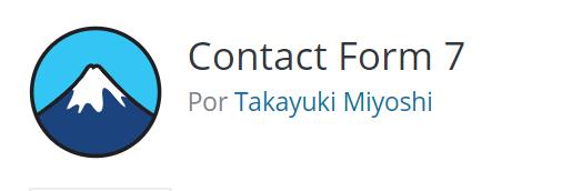 formularios en wordpress, contact form 7