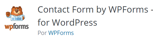 formularios en wordpress wpforms