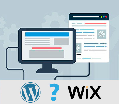 Wix o WordPress