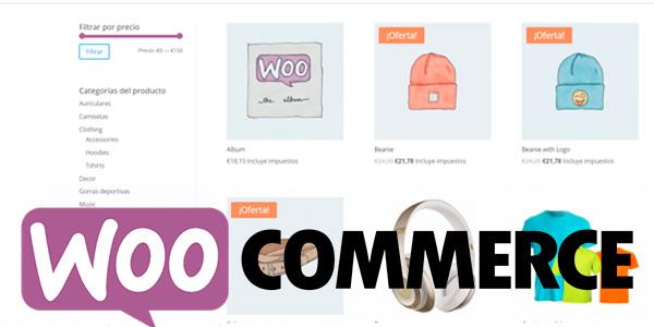curso woocommerce filtrar productos
