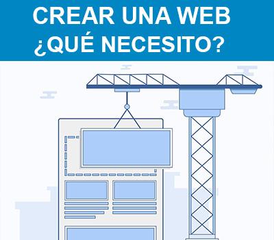 Crear una página web | Elementos y herramientas necesarias