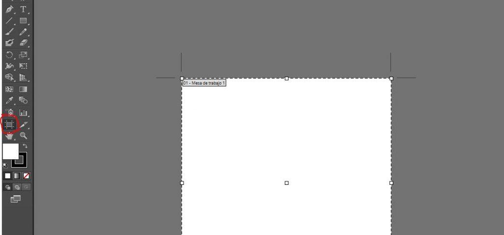 mover mesas de trabajo en illustrator