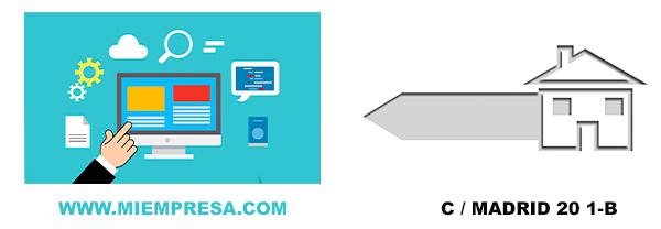dominios internet vs dirección física