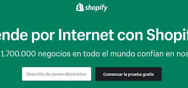 herramientas crear tienda,motores comercio electrónico shopify