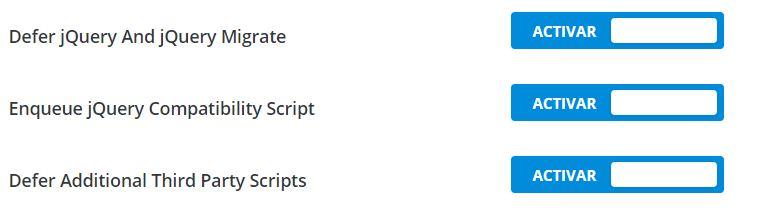divi javascript más rápido