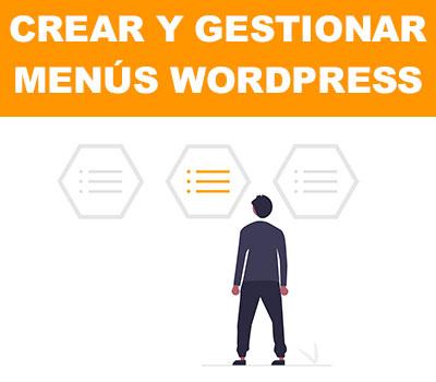 ✅Gestionar Menús en WordPress