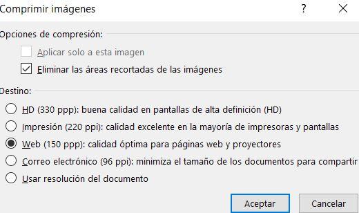 pdf comprimir imágenes